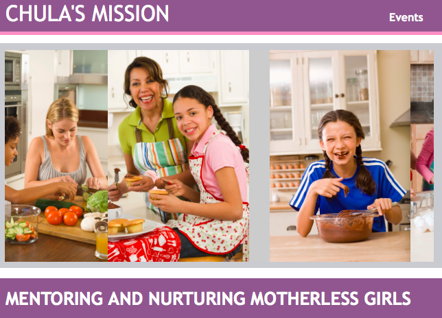 Chulas Mission: Helping Girls without Mothers - Burd